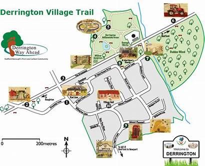 Village Trail Map Derrington
