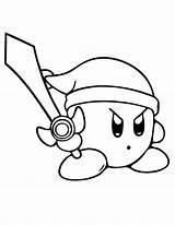 Sword Coloring sketch template