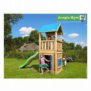 aire de jeux en bois avec toboggan maisonnette et bac a With maisonnette en bois avec bac a sable