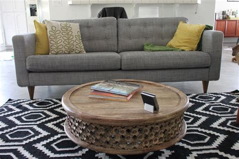 house canape ikea tufted karlstad w midcentury legs sure to get