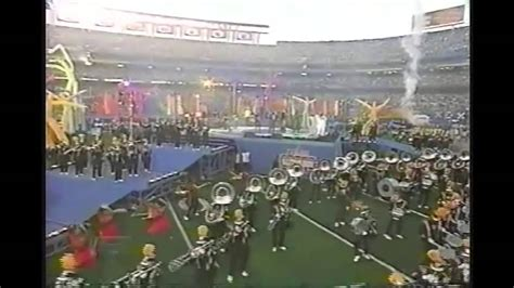 Grambling Marching Band Super Bowl Xxxii Halftime 1998