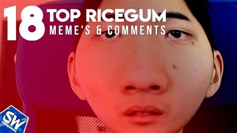 Ricegum Memes - top 18 ricegum memes and comments idubbbz diss track aftermath youtube
