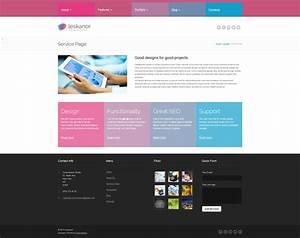 Leskanor  Wordpress Theme