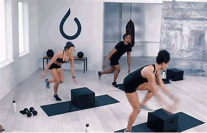 Exercises Diagonal Step Lunge Plyometric Cardio Workout