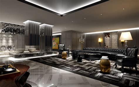 collection modern hotel room collection 3d model max cgtrader