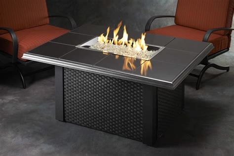 outdoor greatroom napa valley gas fire pit coffee table