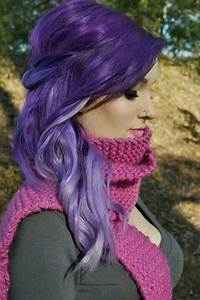 Dark purple to light purple   Purple Hair Love   Pinterest ...