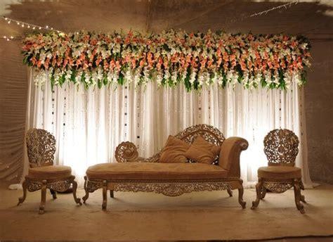 simple wedding stage decoration  pakistan decor