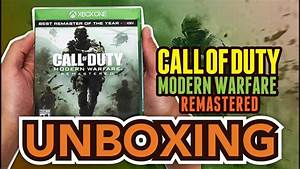 Call Of Duty Modern Warfare Remastered  Xbox One  Unboxing