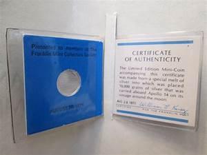 Value of Apollo 14 Silver Mini Coin (Franklin Mint, 1971 ...