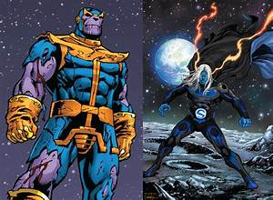 Thanos & Death Seed Sentry vs JLA & The Annihilators ...