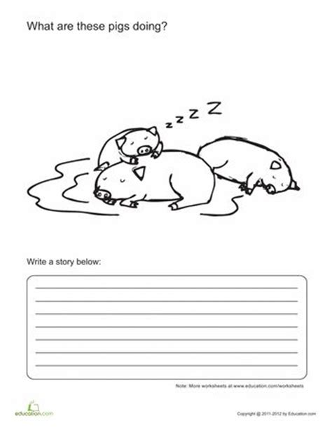 creative writing worksheets 1st grade education