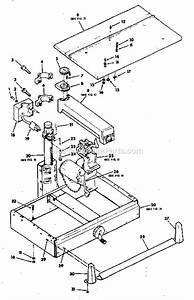 Craftsman 113198110 Parts List And Diagram