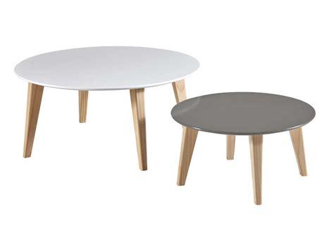 table haute de cuisine avec tabouret table basse gigogne rondo