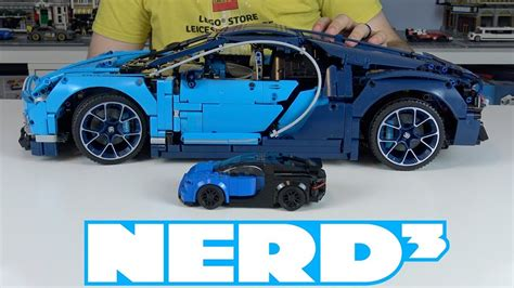 Explore engineering excellence with the lego technic 42083 bugatti chiron advanced building set. Nerd³ LEGO - Technic Bugatti Chiron - 42083 - YouTube