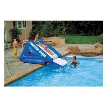 toboggan pour piscine enterr 233 e intex achat vente jeux de piscine les soldes sur cdiscount