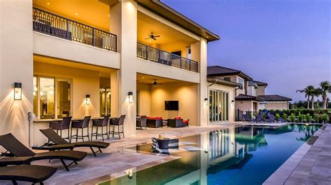 Tour A 9-bedroom Villa In Orlando
