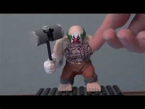 Lego Batman Custom Arkham City Mr. Hammer Big Fig - YouTube