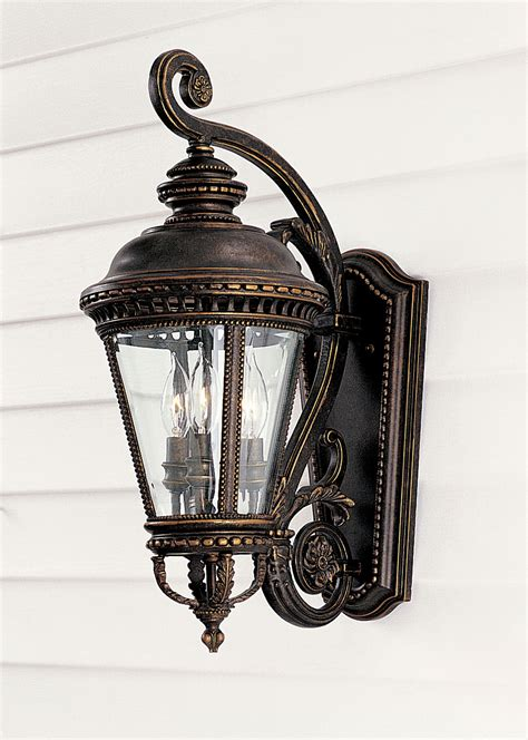 murray feiss ol1901gbz castle outdoor wall lantern