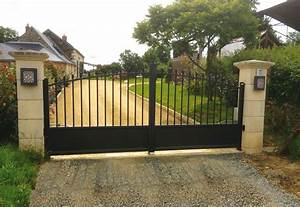 Portail De Maison : pose de portail battant installation de portail ~ Premium-room.com Idées de Décoration
