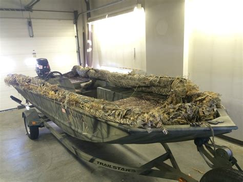 Versatrack Boat Duck Blind by Tracker Grizzly 1754sc Blind Duck Boat For Sale From Usa