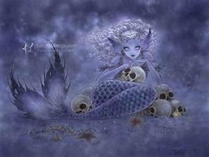 "Aurora Wings - Fantasy Art of Mitzi: ""A Dark Undercurrent"""