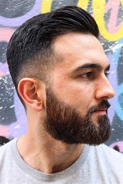 cool  trendy comb  fade hairstyles  men