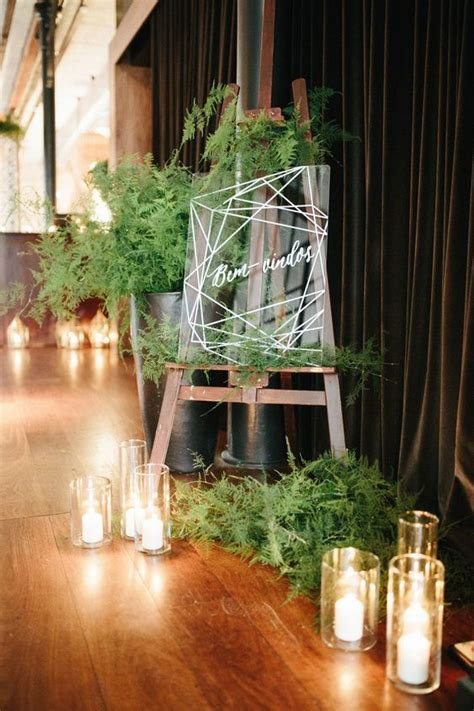 25 Edgy And Bold Fern Wedding Ideas Weddingomania