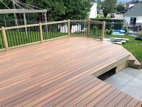 patios composite patio bois trait 233