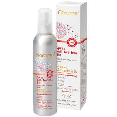 produit anti araignee interieur spray anti acariens 100 bio aux 12 huiles essentielles florame