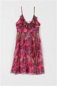 robe fleurie drapace et volantace naf naf 7990a a With robe fleurie ete