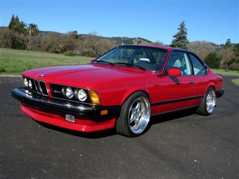 1987 Bmw M6 E24  90k Miles  Super Clean Original Car