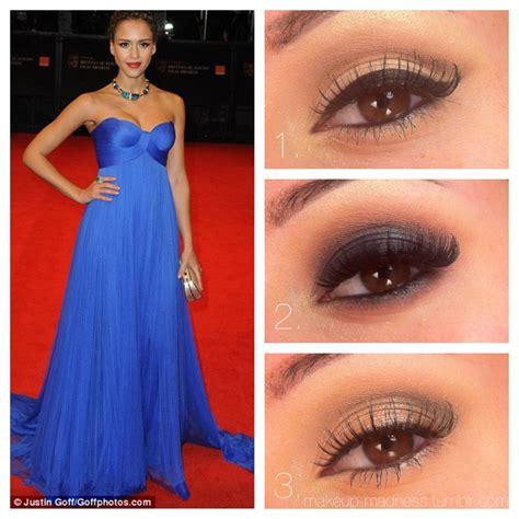 makeup madness prom cobalt dress  classic