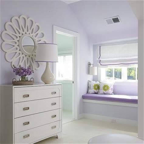 lilac color paint bedroom built in window seat traditional girl s room lynn morgan design