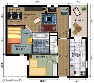 15 des logiciels 3d de plans de chambre gratuits et en ligne With awesome maison sweet home 3d 8 images 3d dextensions de maisons