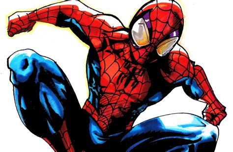 Ultimate Spider Man Drawing  Wwwimgkidcom  The Image