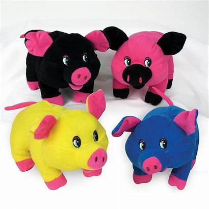 Carnival Pig Plush Stuffed Toy