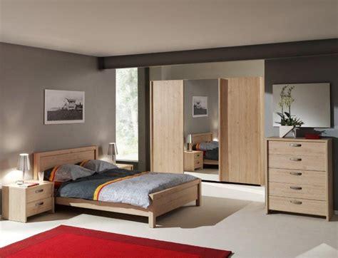 chambre a coucher style contemporain chambre contemporaine complète chêne italien myro