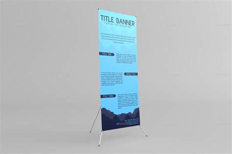 banner stand mock   massdream graphicriver