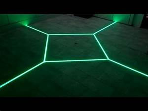 How to led floor tiling system diy make your floor for Diy led floor lamp