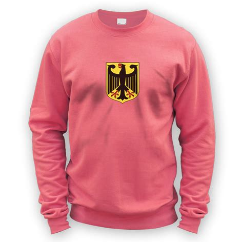 eagle sweater german eagle sweater x8 colours vag coat of arms crest