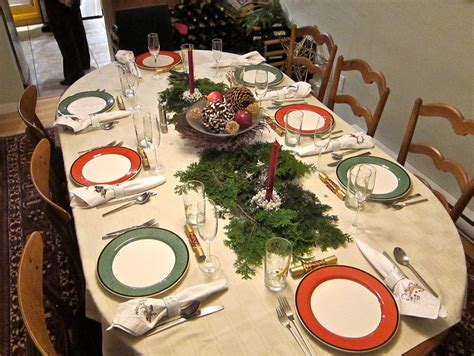 dinner table decoration ideas dining room elegant christmas banquet decorating ideas