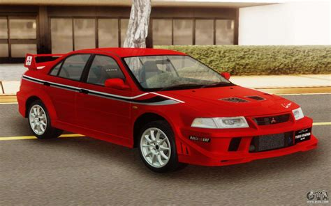 Mitsubishi Lancer Evo Vi by Mitsubishi Lancer Evo Vi Tommi Makinen Edition For Gta San