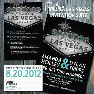vegas wedding invitations With las vegas post wedding reception invitations