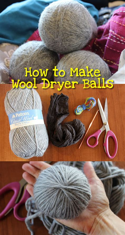 How To Make Wool Dryer Balls  So Easy! Makes A Great Gift