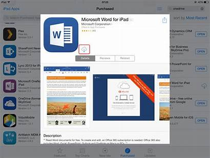 Word Microsoft Ipad App Using Collaborate Install