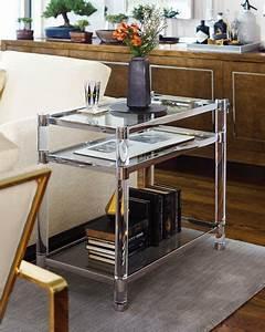 Table Salon Metal : bernhardt salon stainless steel accent table neiman marcus ~ Teatrodelosmanantiales.com Idées de Décoration