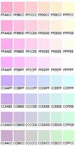 Des Couleurs Pastel : code html des couleurs pastel do it yourself ~ Voncanada.com Idées de Décoration