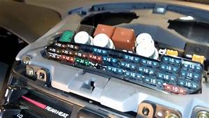 Fuse Box Location On A Toyota Previa