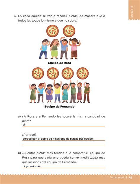 Libro de matemáticas de la urss 1991. Libro De Matematicas Tercer Grado Contestado - Libros Favorito